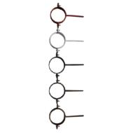 Tiplis csőbilincs, 33-as,18 cm
